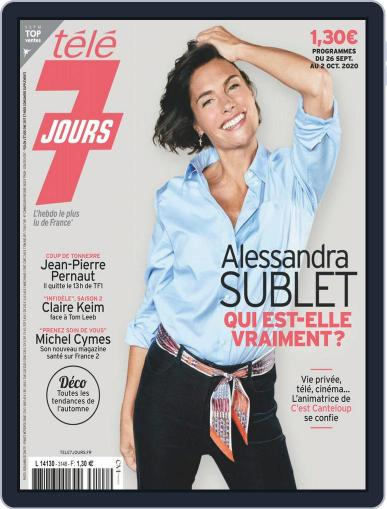 Télé 7 Jours (Digital) September 26th, 2020 Issue Cover