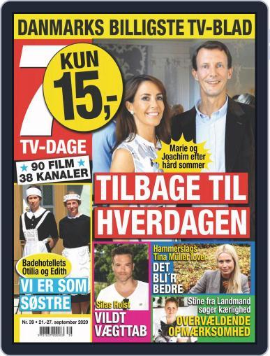 7 TV-Dage (Digital) September 21st, 2020 Issue Cover
