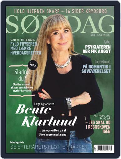 SØNDAG September 21st, 2020 Digital Back Issue Cover