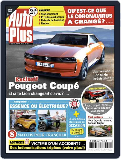 Auto Plus Utilitaires (Digital) March 27th, 2020 Issue Cover