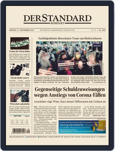 STANDARD Kompakt (Digital) September 21st, 2020 Issue Cover