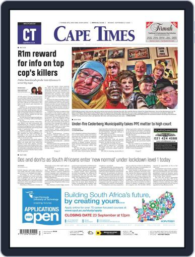 Cape Times (Digital) September 21st, 2020 Issue Cover