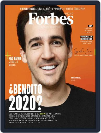 Forbes México September 1st, 2020 Digital Back Issue Cover