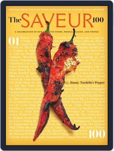 Saveur September 9th, 2020 Digital Back Issue Cover