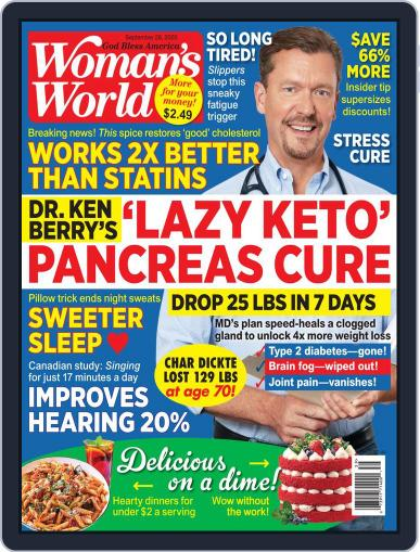 Woman's World (Digital) September 28th, 2020 Issue Cover