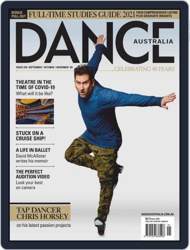 Dance Australia September 1st, 2020 Digital Back Issue Cover