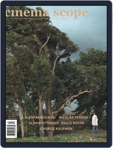 Cinema Scope September 9th, 2020 Digital Back Issue Cover