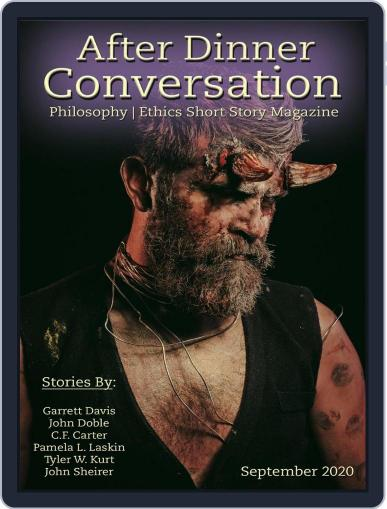 After Dinner Conversation: Philosophy | Ethics Short Story September 1st, 2020 Digital Back Issue Cover