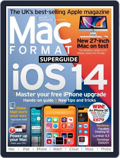 MacFormat (Digital) September 15th, 2020 Issue Cover