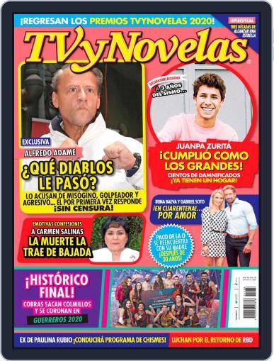 TV y Novelas México (Digital) September 21st, 2020 Issue Cover