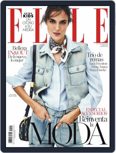 Elle España October 1st, 2020 Digital Back Issue Cover