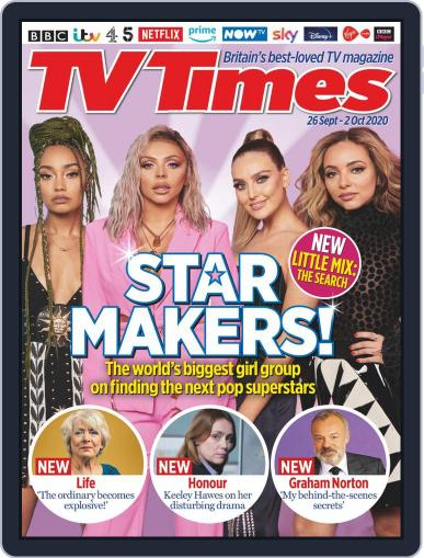 TV Times (Digital) September 26th, 2020 Issue Cover