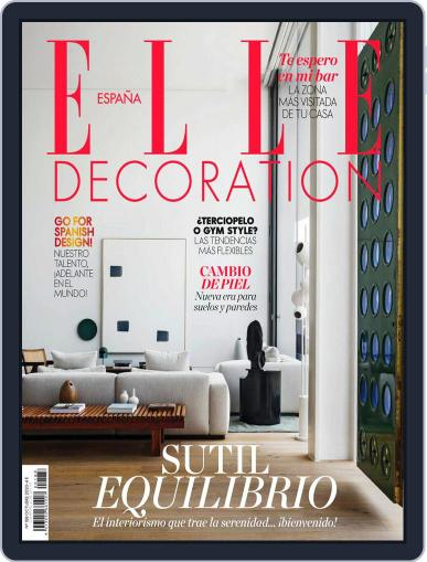 Elle Decoration Espana (Digital) October 1st, 2020 Issue Cover