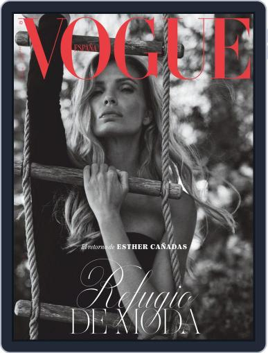 Vogue España October 1st, 2020 Digital Back Issue Cover
