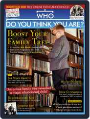 Who Do You Think You Are? (Digital) Subscription October 1st, 2020 Issue