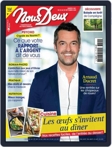 Nous Deux September 22nd, 2020 Digital Back Issue Cover