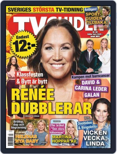 TV-guiden (Digital) September 24th, 2020 Issue Cover