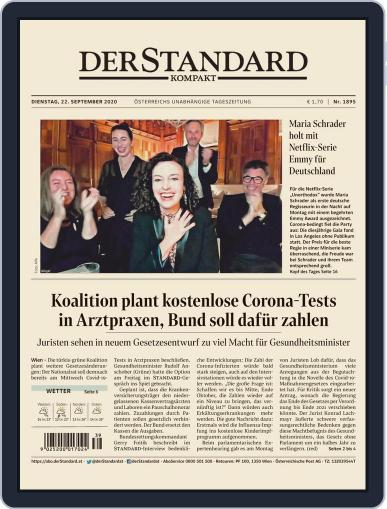 STANDARD Kompakt September 22nd, 2020 Digital Back Issue Cover