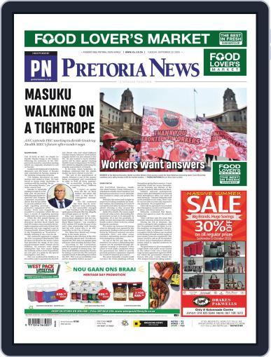 Pretoria News (Digital) September 22nd, 2020 Issue Cover