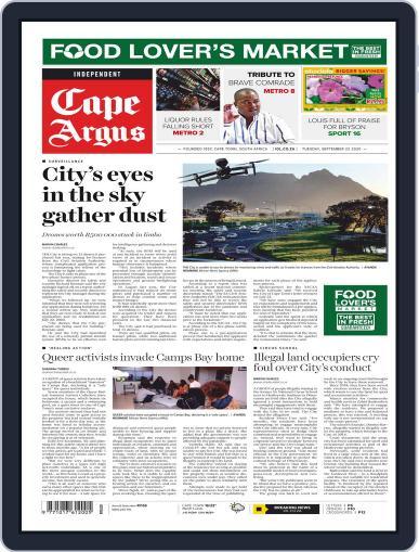 Cape Argus (Digital) September 22nd, 2020 Issue Cover