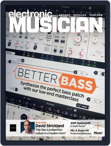 Electronic Musician (Digital) November 1st, 2020 Issue Cover