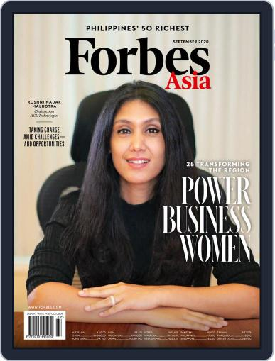 Forbes Asia (Digital) September 1st, 2020 Issue Cover