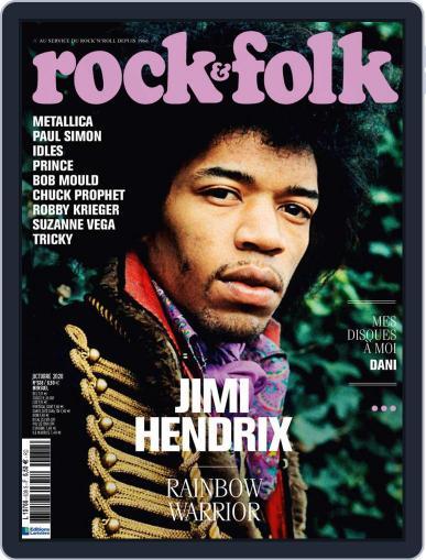 Rock And Folk October 1st, 2020 Digital Back Issue Cover