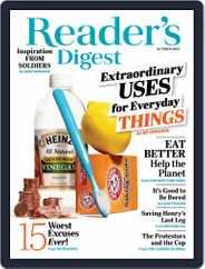 Reader's Digest (Digital) Subscription October 1st, 2020 Issue