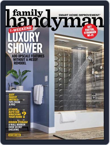 Family Handyman (Digital) October 1st, 2020 Issue Cover