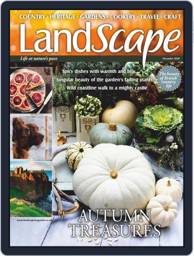 Landscape (Digital) November 1st, 2020 Issue Cover