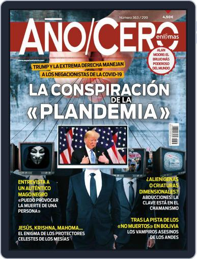 Año Cero October 1st, 2020 Digital Back Issue Cover