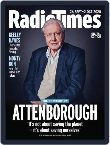 Radio Times September 26th, 2020 Digital Back Issue Cover