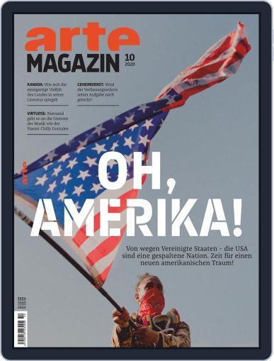 Arte Magazin October 1st, 2020 Digital Back Issue Cover