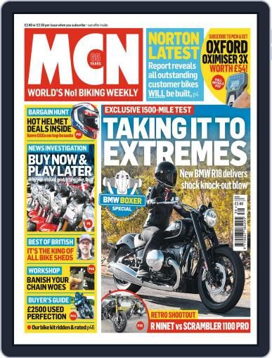 MCN (Digital) September 23rd, 2020 Issue Cover