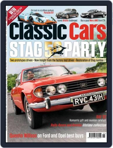 Classic Cars November 1st, 2020 Digital Back Issue Cover