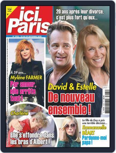 Ici Paris September 23rd, 2020 Digital Back Issue Cover