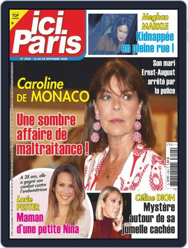 Ici Paris September 16th, 2020 Digital Back Issue Cover
