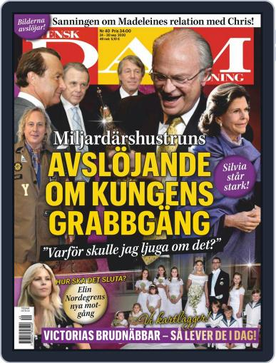 Svensk Damtidning September 24th, 2020 Digital Back Issue Cover
