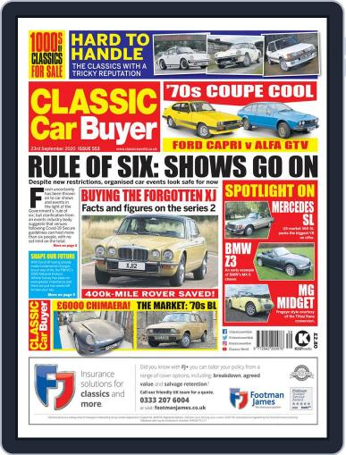 Classic Car Buyer (Digital) September 23rd, 2020 Issue Cover