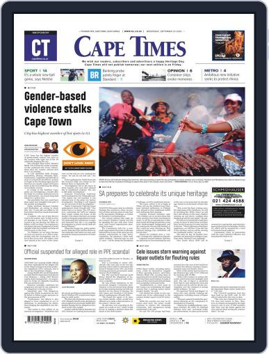 Cape Times (Digital) September 23rd, 2020 Issue Cover