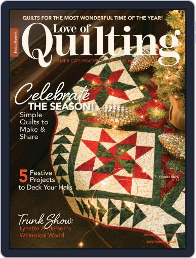 Fons & Porter's Love of Quilting (Digital) November 1st, 2020 Issue Cover
