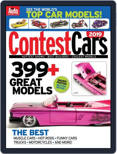 Contest Cars Magazine (Digital) September 13th, 2019 Issue Cover
