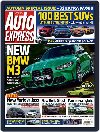Auto Express (Digital) September 23rd, 2020 Issue Cover