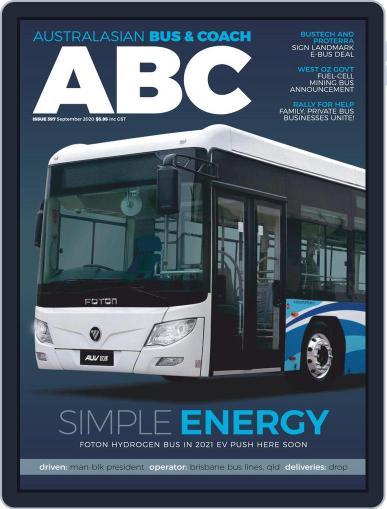 Australasian Bus & Coach (Digital) September 1st, 2020 Issue Cover