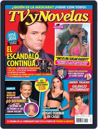 TV y Novelas México (Digital) September 28th, 2020 Issue Cover