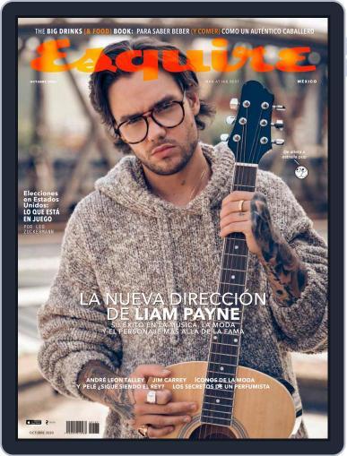 Esquire  México (Digital) October 1st, 2020 Issue Cover