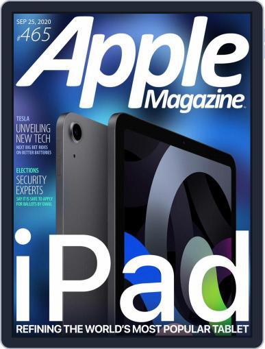 AppleMagazine September 25th, 2020 Digital Back Issue Cover