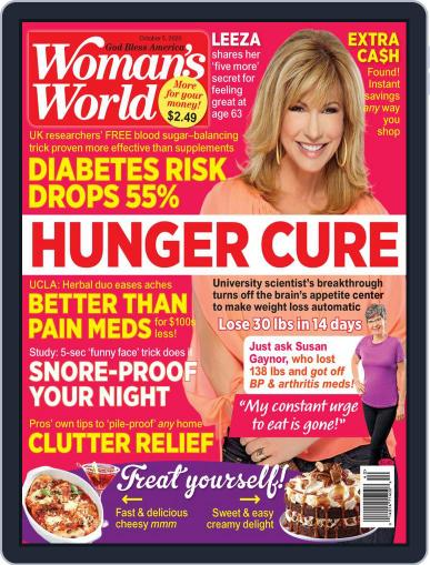 Woman's World (Digital) October 5th, 2020 Issue Cover
