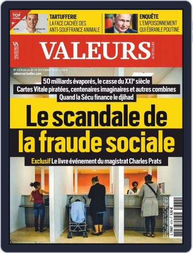 Valeurs Actuelles (Digital) September 24th, 2020 Issue Cover