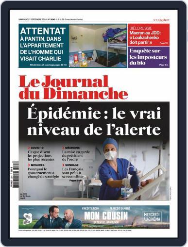 Le Journal du dimanche (Digital) September 27th, 2020 Issue Cover